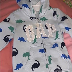 DINOSAUR 🦕 🦖 GAP FLEECE COVERALL!